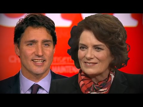 Margaret Trudeau Supports Son