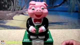 Greedy Pig Wants More Money, Piggy Bank