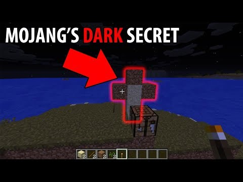 What is Mojang hiding from us in Minecraft? (Scary Minecraft Video)