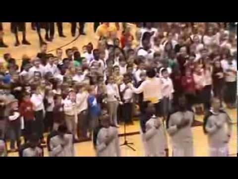 Ebinport Elementary School- Winthrop - National Anthem