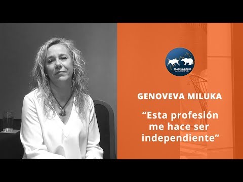 """GENOVEVA -""""ESTA PROFESIÓN ME HACE SER INDEPENDIENTE"""""""