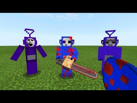 SLENDYTUBBIES ADDON in Minecraft PE
