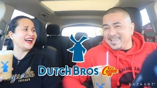 TRYING DUTCH BROS. ICED COFFEE FOR THE FIRST TIME!!
