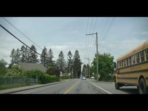 Maple Ridge City, British Columbia, Canada - Driving Around Town - Haney BC
