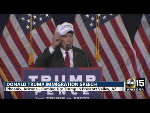 Live stream 10/4/16 - Multiple Donald Trump Arizona speeches, VP Debate