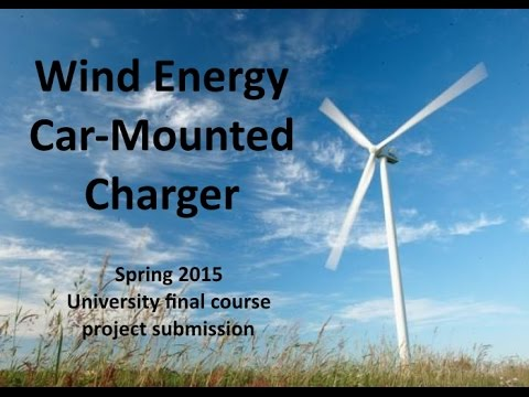 Wind Energy Car-Mounted Charger