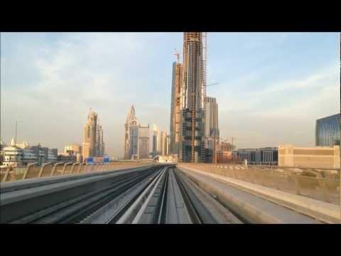Dubai Metro  Feb 2012