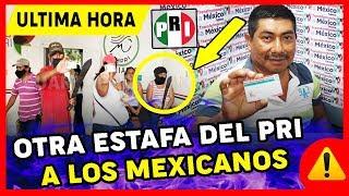 ¡¡TELEVISA LO OCULTA!! El PRI engañą a POBLADORES para AFILIARLOS y no les pagan $1000 en CHIAPAS