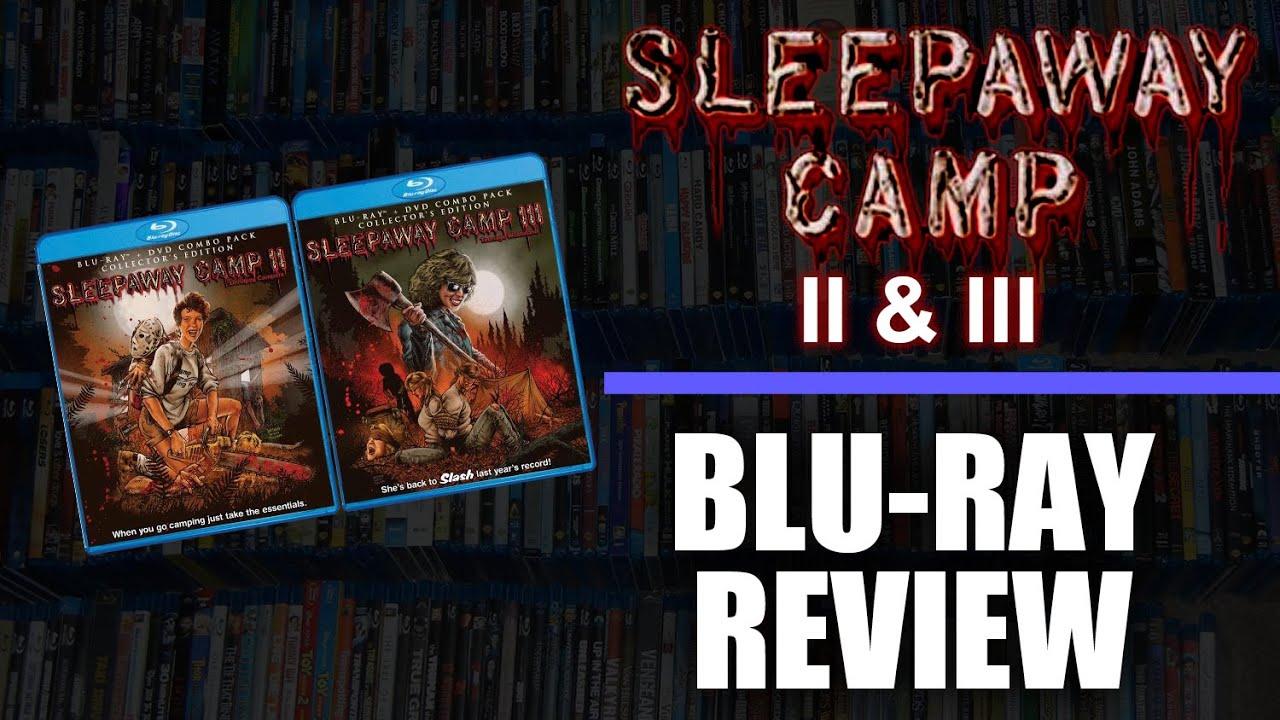 Download Blu-ray Review #006: Sleepaway Camp II & III Blu-Ray Review (Shout Factory)