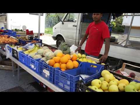 Abruzzo Market Italy