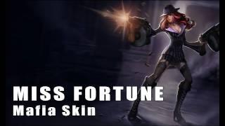 League of Legends: Mafia Miss Fortune Skin Artwork