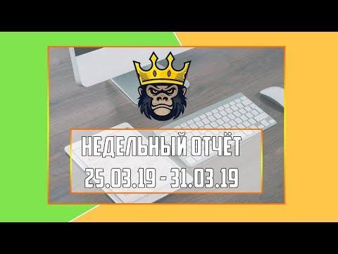 Недельный видео-отчёт 25.03.19 - 31.03.19 - RichMonkey.biz