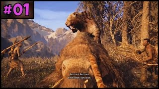 Far Cry Primal 100% Complete - Part 1 - PC Gameplay Walkthrough - PC, PS4 Pro, Xbox One
