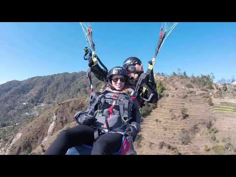 Nagarkot Everest View Paragliding in a Clear day