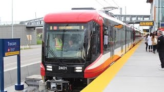 Calgary C-Train *EXCLUSIVE!!!*: On Board Siemens S200 #2402 (Red Line)(HD)