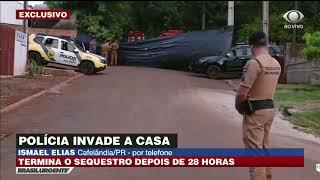 28 horas de sequestro: polícia invade cativeiro