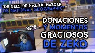 Clips GRACIOSOS de ZEKO #3 (Donaciones y Momentos Graciosos)