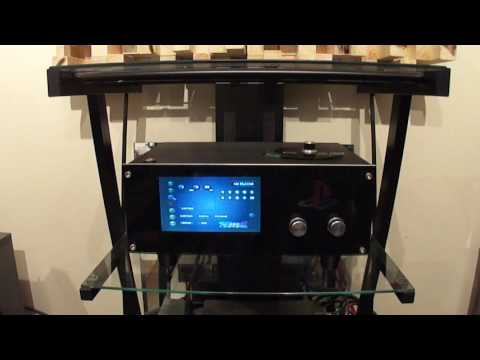 DIY SONY PS1-Audiophile CD player + SONY TA-E86B Preamp