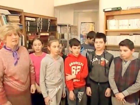 Ziua Francofoniei - la Biblioteca Municipală Lugoj - 21 martie 2016 -video2 Adriana Weimer