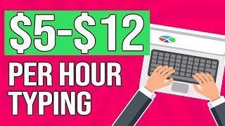 Earn $5-$12 Per HOUR Typing From Home (EASY Beginners Transcription Jobs)