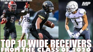 Top 10 Wide Receivers from the Class of 2020