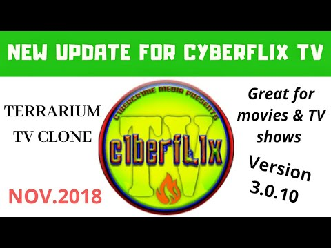 How to get the new Cyberflix TV update 3 0 10 (Terrarium Tv replacement)