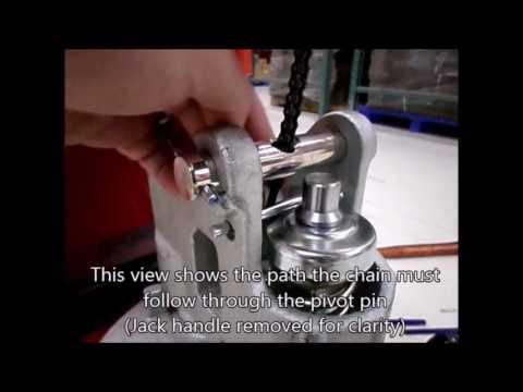 Jet W Series Pallet Jack Handle Assembly