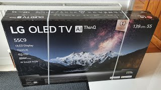 LG C9 OLED TV Unboxing and Setup EVERYTHING YOU NEED TO KNOW