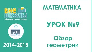 Онлайн-урок подготовки к ЗНО по математике №9