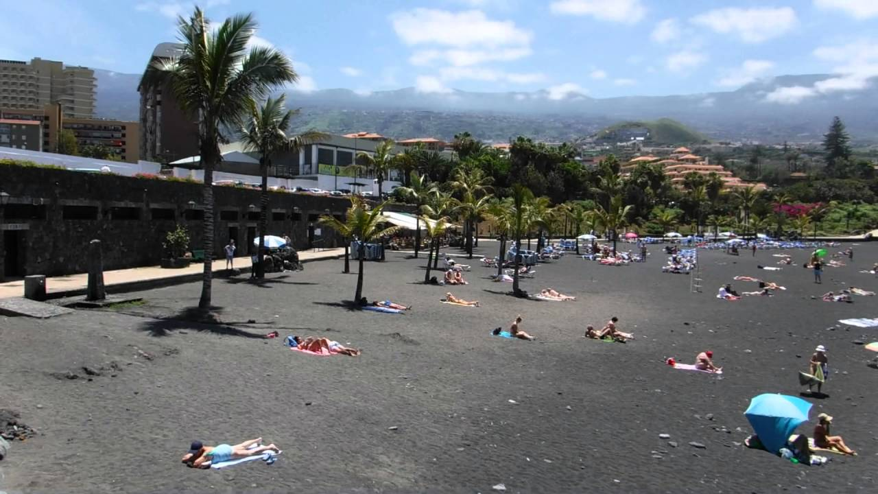 Playa jardin puerto de la cruz tenerife youtube - Playa jardin puerto de la cruz tenerife ...