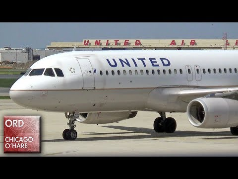 25+ Minutes of Plane Spotting at Chicago O'Hare Int'l Airport (ORD) - United 767, Delta 717 and more