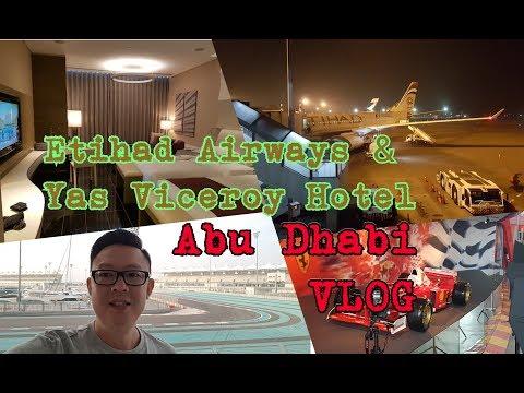 Etihad Airways EY471 Jakarta - Abu Dhabi & Yas Viceroy Hotel Review - Abu Dhabi Jalan2x Vlog