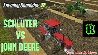 "[""SCHLUTER"", ""Tractors"", ""Cultivation"", ""SCHLUTER VS JOHN DEERE"", ""Cultivation Challenge"", ""JOHN DEERE 9470 R"", ""DODGE FLAT BED"", ""Lowboy trailer"", ""SCHLUTER 3000 TVL-LS"", ""FARMING SIMULATOR 17"", ""FARMING SIMULATOR 2017 Trucks"", ""Farming Simulator 2017 Tr"