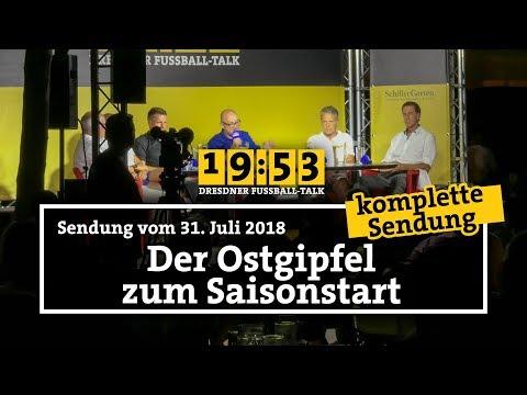 19:53 - DER DRESDNER FUSSBALLTALK | 25. Sendung | Ostgipfel zum Saisonauftakt