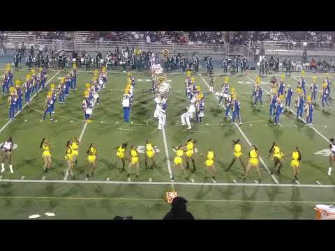Miami Northwestern Mighty Marching Bulls halftime show Vs Miami Central pt.2