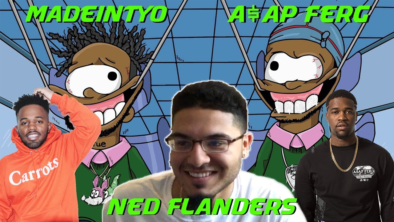Ned Flanders - Madeintyo ft. A$AP Ferg   Adrian Vendiola