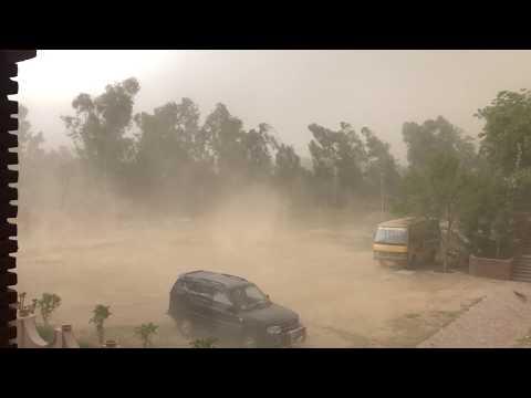 North India Sand Storm 2018