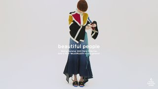 """beautiful people Spring/Summer 2022 Paris Collection """"Side-C Vol.7 MULTIPLICITY"""""""