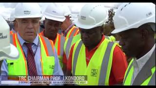 Standard Gauge Railway Line From Dar Es Salaam to Morogoro Project - AUGUST 2018