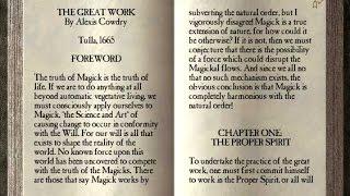 gnostic teachings of the great arcanum