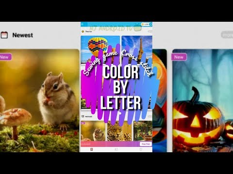 Color By Letter - Sewing Game Cross Stitch [Android/iOS]