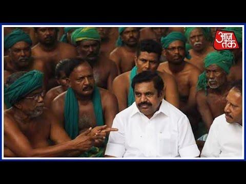 TN CM Palaniswami Meets Protesting Farmers In Delhi