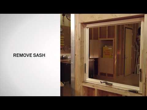 Hinge Replacement on Andersen® 400 Series Awning Windows