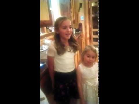 """Cover of """"Rolling in the Deep"""" (Adele) by a cute little girl"""