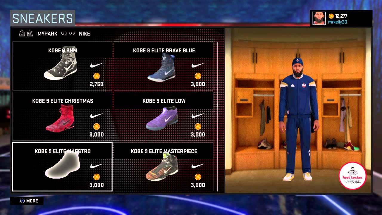 2942781a1c9 NBA 2K16 shopping spree - YouTube