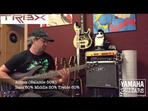 YAMAHA TRBX 505 Bass Sounds (Demo)