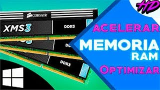 Acelerar y Optimizar memoria RAM sin programas | MÉTODOS 2017 | Windows 10, 8.1, 8, Vista, 7, XP