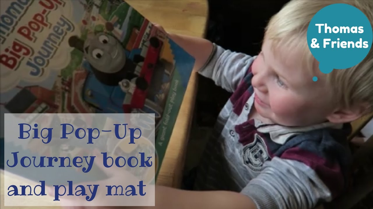 Thomas Tank Engine And Friends Pop Up Book Play Mat Review