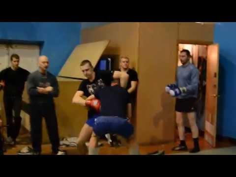 Рукопашный бой. Клуб ГЕРМЕС. Тренировка  (часть 2)