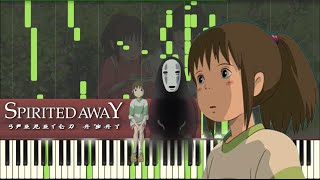 Video Spirited Away - Inochi no Namae [Piano Tutorial] (Synthesia) // Kyle Landry + SHEETS/MIDI download MP3, 3GP, MP4, WEBM, AVI, FLV Agustus 2018